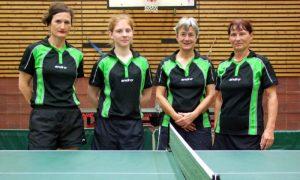 2.Damenmannschaft des ASV Berlin - Saison 2015/2016
